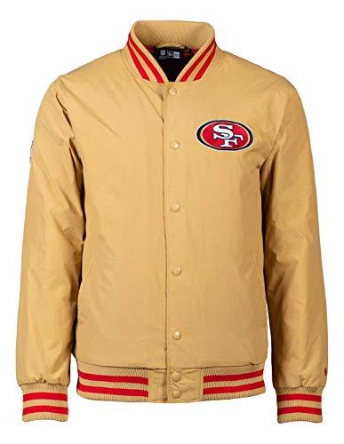 New Era - NFL San Francisco 49ers Team Wordmark GS Bomber Jacke - Gold Farbe Gold, Größe XXL