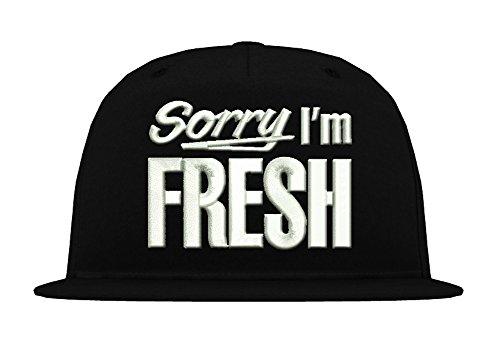 TRVPPY 5-Panel Snapback Cap Casquette modèle Sorry I'm Fresh, différentes Couleurs, b610