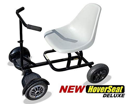 HoverSeat Deluxe - Seating Attachment for Hoverboard Self Balancing Scooter. Now Comes with Handle bar and Molded seat.