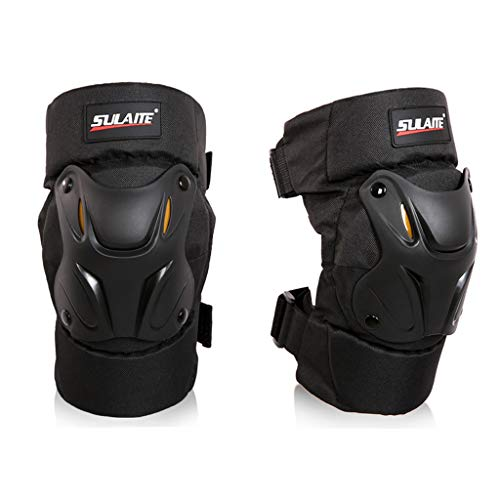 BosjiKnee Brace Knee Pad Self-Heating Therapy Knee Sleeve Injury Prevention Kneepad Compression Fit Support for All Kind of Sports (Black)