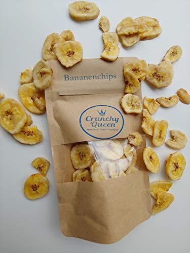 Crunchy Queen Bananenchips Topping vegan & palmölfrei (50g)