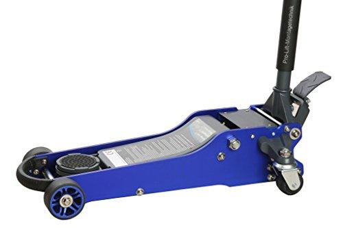 Pro-Lift-Werkzeuge Aluminium-Stahl-Wagenheber 2t Rangierwagenheber Alu KFZ-Heber flach Doppelkolben 2 t professionell hydraulischer floor jack 2000kg Werkstatt