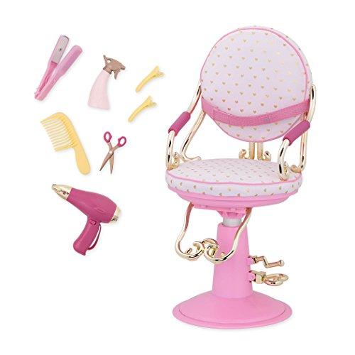 Our Generation-BD37413Z Salon Chair-Poltrona PARRUCCHIERA Rosa E Oro, Colore rosé, BD37413Z