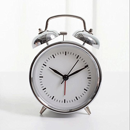 Alarm clock Fhw Reloj Despertador electrónico nostálgico Retro Reloj Despertador Ruidoso Reloj Despertador Perezoso (Color : C)
