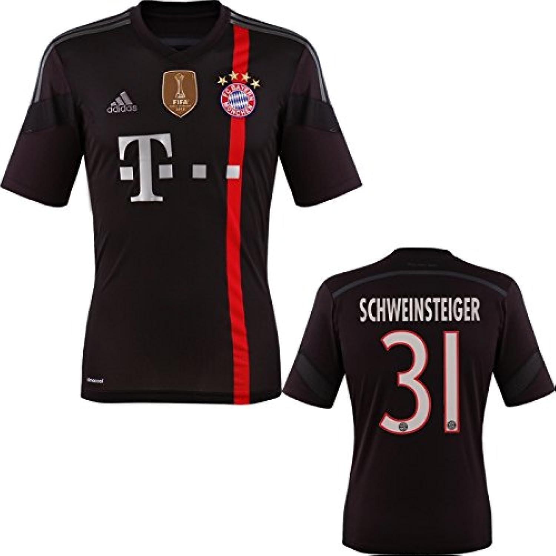 Adidas FC Bayern Schweinsteiger Trikot 3rd 2015 WC