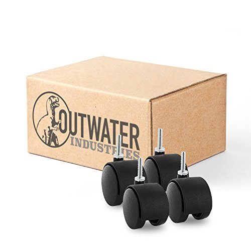 Outwater Nylon Wheel Caster