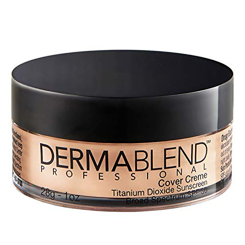 Dermablend Cover Creme Full Coverage Cream Foundation with SPF 30, 1 Oz.