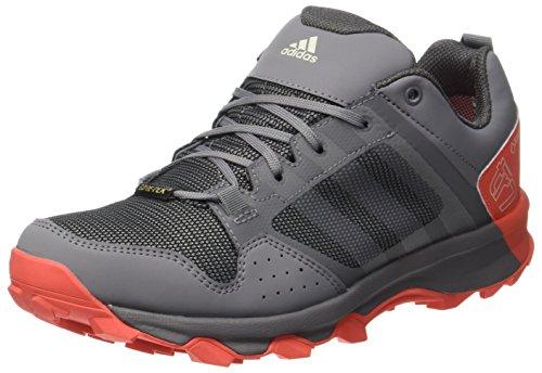 adidas adidas Damen Kanadia 7 Tr GTX W Traillaufschuhe, Mehrfarbig (Grey Three/Chalk White/Easy Coral), 38 2/3 EU