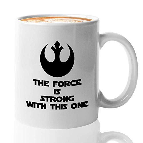 TV Series Coffee Mug - No Coffee No Workee - Science Fiction The Green Baby Alien Mando The Force Jedi Lightsaber Darth Skywalker Quote