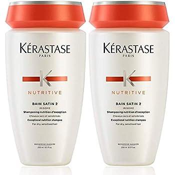 Kerastase Nutritive Duo Pack: Bain Satin 2 Shampoo For Dry ...