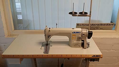 Juki Máquina de coser industrial DDL 8700, coser rápido, 220 V, servomotor, con posicionamiento automático de la aguja y muchos extras