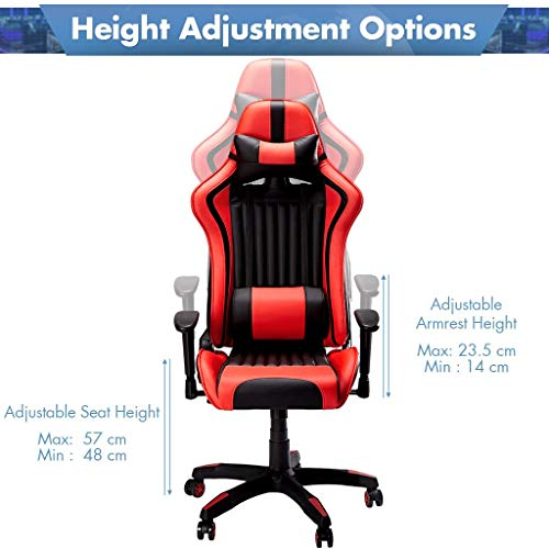 SLYPNOS Gaming Stuhl Racing Stuhl Bild 6*