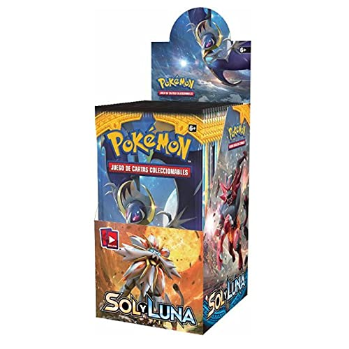 Pokemon Sol y Luna (Caja de 18 sobres en Castellano) (EvolutionJuegos)