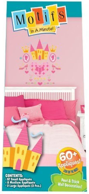 Motifs In A Minute Peel and Stick Wall Decor Appliqu¨ s Princess by Motifs in a Minute