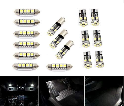 Großer Elefant – Premium-LED-Leuchtmittel, C-Klasse, W204, Weiß, 16 Stück