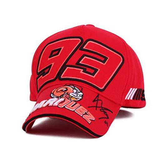DGFB Gorra De Beisbol Moda Verano Pop Gorra De Béisbol Bordado 93 Sun Papá Sombrero para Hombres...