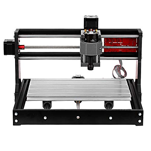 Máquina de grabado,Baugger- 3018 Pro GRBL Control DIY Mini máquina CNC 3 ejes Pcb Fresadora Router de madera Grabador con controlador fuera de línea