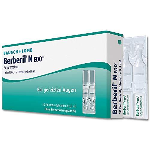 Berberil BERBERIL N EDO Augentropfen - 10X0.5 ml Augentropfen 00255510