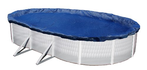 Blue Wave Gold 15-Year 16-ft x 32-ft Oval Above Ground Pool Winter Cover