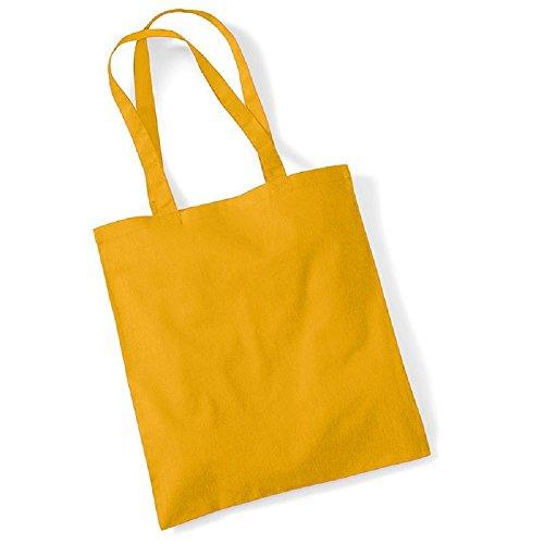 Westford Mill Promo Einkaufstasche, 10 Liter (Einheitsgröße) (Senf)