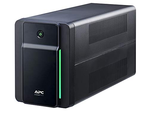 APC Back UPS BX – BX2200MI - unterbrechungsfreie Stromversorgung 2200 VA, Batteriesicherung & Überspannungsschutz, Backup-Batterie mit AVR, Datensicherungsfunktion