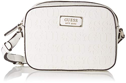 Guess Kamryn Crossbody Top Zip Schoudertas, 6x16x22 centimeter