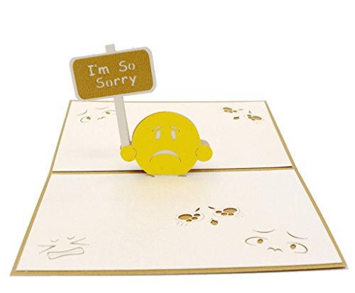 Pop Up I'm So Sorry Apology Card