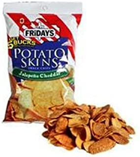 Poore Brothers Tgif Potato Skins Jalapeno Cheddar Flavor, 3-Ounces (Pack of 6)
