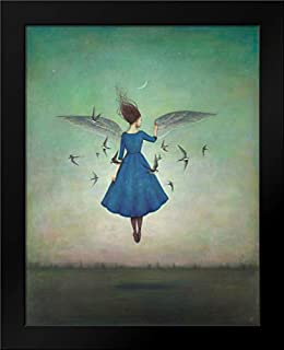 Swift Encounter Framed Art Print by Huynh, Duy