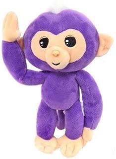 Commonwealth Plush Small Purple Fingerling Monkey