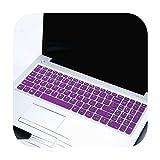 Funda de teclado para ordenador portátil Lenovo Ideapad S145 15 (15 AMD) (15 Intel) 15 6 pulgadas S145 15Iwl S145 15Ast S145 15 2019-Purple-