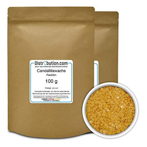 Candelillawachs | 200 g | Euphorbia cerifera cera | veganes | natürliches | pflanzliches Wachs | Für Naturkosmetik geeignet