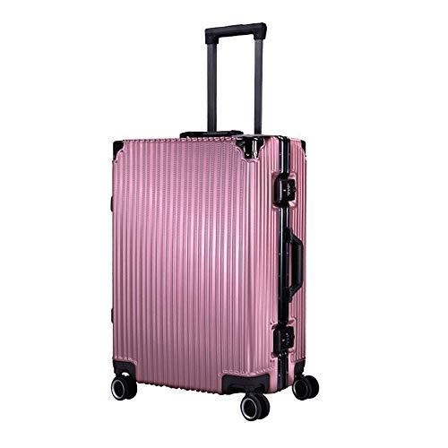 Ys-s Personalización de la tienda Equipaje 20 pulgadas contraseña caso puesto de tapa maleta marco de aluminio boda maleta trolley encargo de embarque transpirable, resistente al agua, resistente al d