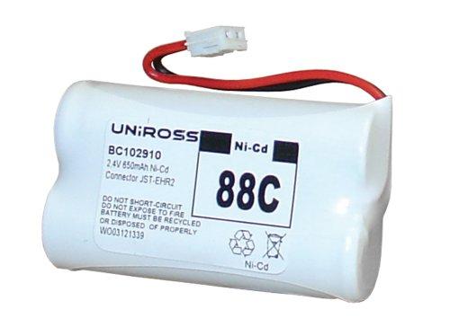 Uniross BC102910 2 x AA batería para teléfono inalámbrico 88C: Amazon.es: Electrónica