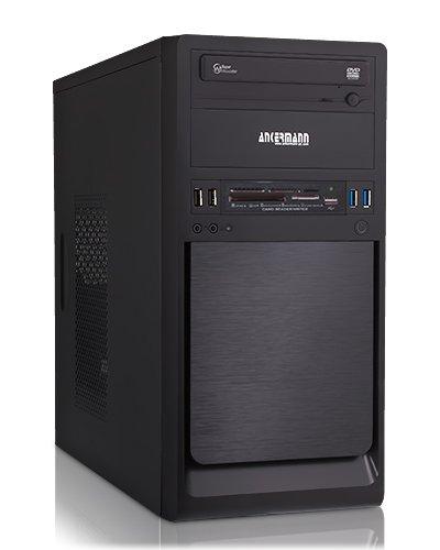 Ankermann Ankermann-PC Estación de trabajo - Intel Core i3-4160, 2x 3.60GHz - onBoard Intel HD Graphics 4400 - Kingston HyperX FURIA blau DIMM de 8 GB DDR3-1600 - 1000 GB Festplatte - DVD-RW - Windows 7 Professional de 64 bits - Lector de tarjetas 4260409312265 0,00 cm (Zoll) escritorio-PC (Intel core_i3 4160 2,4GHz, 8GB de RAM, 1000 GB HDD, onBoard Intel HD Graphics 4400, DVD, Windows 7 Professional)
