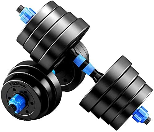 HJMCBZ Dumbbell Exercise & Fitness Dumbbells Dumbbells Pairs 3-44 lbs Adjustable Dumbbell Weight Set Barbell Lift with 2 Connector for Home Bodybuild Train Dumbbell Dumbbells