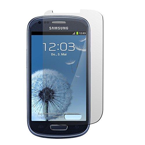 PhoneNatic 2er-Pack Displayschutzfolien klar kompatibel mit Samsung Galaxy S3 Mini