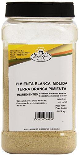 Zenesur - Pimienta blanca molida - 820 g