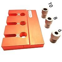 SPRINGHUA 大工掘削ポケット穴ツールのポケット穴のドリルガイド治具ノックピンセット木工建具マスターキット大工 (Color : A3 Template)