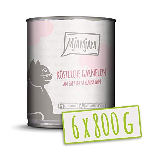 MjAMjAM köstliche Garnelen an saftigem Hühnchen 6x800 g, 1er Pack (1 x 4800 g)