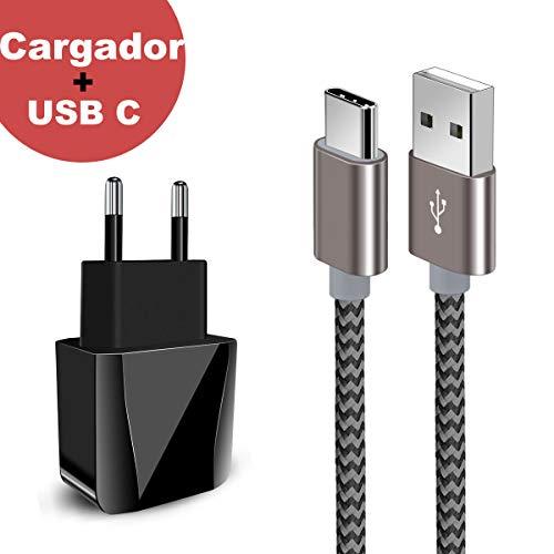 Zeuste-Quick Cargador Móvil con 2 Puertos USB Compatible