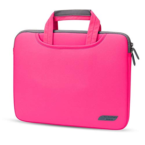 Professionelle Laptop-Tasche Aktentasche Laptop-Beutel-Kasten for 12 13 15 Notebook-Tasche, Notebook-Tasche Business-Handtasche Bussiness Tablet Tragetasche ( Color : Red , Size : For 15 inch )