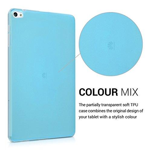 kwmobile Huawei MediaPad T2 10.0 Pro Hülle - Silikon Tablet Cover Case Schutzhülle für Huawei MediaPad T2 10.0 Pro - Blau - 3