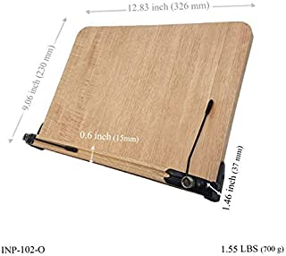 BestBookStand INP-102-O Patented Ergonomic Premium Book Stand ()