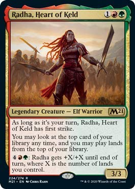 Magic: The Gathering - Radha, Heart of Keld - Core Set 2021
