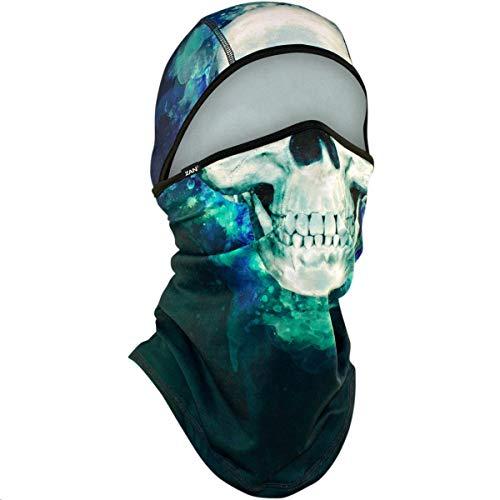 Zan Headgear ZHWB4L414 Convertible Balaclava Skull, Blue