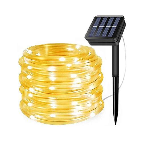 ZHUSHI Cadena De Luces LED para Lámpara Solar Al Aire Libre 50/100/200/300 LED Hadas, Vacaciones, Fiesta De Navidad, Guirnalda, Iluminación De Tubo De Cuerda De Jardín Solar
