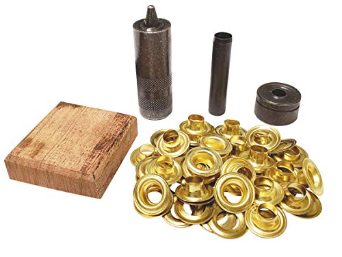General Tools 71260 Grommet Kit with 48 Grommets, 1/4-Inch