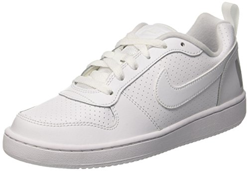NIKE Court Borough Low (GS), Zapatillas de Baloncesto Unisex Niños
