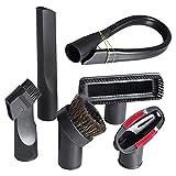 WDGNY Accesorios de limpieza adecuados para aspiradora GIBTOOL de repuesto universal de 32 mm (1 1/4 pulgadas) Kit de cepillo de accesorios para aspiradora